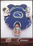 2012/13 Upper Deck Canvas #C80 Cory Schneider