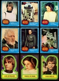 Star Wars Series 1 (Blue) Complete Set w/stickers (1977 Topps)