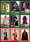 Star Wars Series 4 (Green) Complete Set w/stickers (1977 Topps)