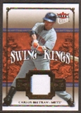 2007 Fleer Ultra Swing Kings Materials #CB Carlos Beltran