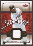2007 Fleer Ultra Swing Kings Materials #MR Manny Ramirez