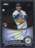 2011 Topps Chrome #190 Ivan DeJesus Jr. Rookie Auto