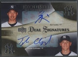 2007 Exquisite Collection #IC Kei Igawa & Tyler Clippard Rookie Signatures Dual Signatures Auto #04/35