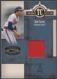 2005 Throwback Threads #29 Rod Carew Throwback Collection Material Jacket #148/250