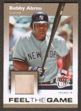 2007 Fleer Ultra Feel the Game Materials #BA Bobby Abreu