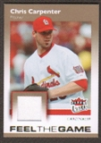 2007 Fleer Ultra Feel the Game Materials #CC Chris Carpenter