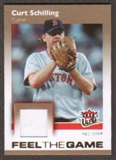 2007 Fleer Ultra Feel the Game Materials #CS Curt Schilling