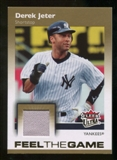 2007 Fleer Ultra Feel the Game Materials #DJ Derek Jeter