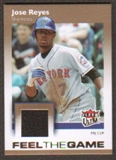 2007 Fleer Ultra Feel the Game Materials #JR Jose Reyes