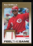 2007 Fleer Ultra Feel the Game Materials #KG Ken Griffey Jr.