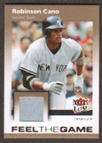 2007 Fleer Ultra Feel the Game Materials #RC Robinson Cano