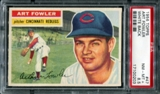 1956 Topps Baseball #47 Art Fowler PSA 8.5 (NM-MT+) *0203