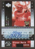2007 Upper Deck Future Stars #114 Michael Bourn Autograph