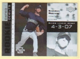 2007 Upper Deck Future Stars Rookie Dated Debut #BM Brandon Morrow /999