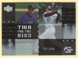 2007 Upper Deck Future Stars Two for the Bigs #BT Troy Tulowitzki/Jeff Baker /999