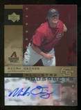 2007 Upper Deck Future Stars All Star Futures Signatures #MO Micah Owings