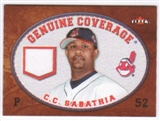 2007 Fleer Genuine Coverage #CS C.C. Sabathia