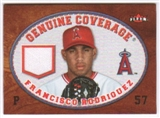 2007 Fleer Genuine Coverage #FR Francisco Rodriguez