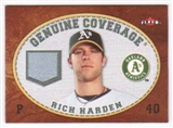 2007 Fleer Genuine Coverage #HA Rich Harden