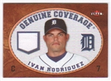 2007 Fleer Genuine Coverage #IR Ivan Rodriguez