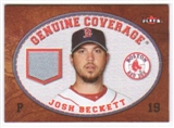 2007 Fleer Genuine Coverage #JB Josh Beckett