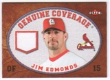 2007 Fleer Genuine Coverage #JE Jim Edmonds