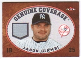 2007 Fleer Genuine Coverage #JG Jason Giambi