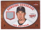 2007 Fleer Genuine Coverage #JN Joe Nathan
