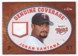 2007 Fleer Genuine Coverage #JS Johan Santana