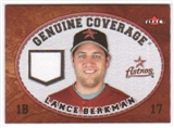 2007 Fleer Genuine Coverage #LB Lance Berkman