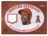 2007 Fleer Genuine Coverage #VG Vladimir Guerrero
