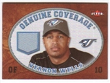2007 Fleer Genuine Coverage #VW Vernon Wells