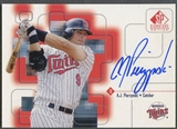 1999 SP Signature #AJP A.J. Pierzynski Auto