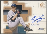1999 SP Signature #BWA Billy Wagner Auto