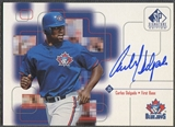 1999 SP Signature #CD Carlos Delgado Auto
