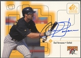 1999 SP Signature #CH Chad Hermansen Auto