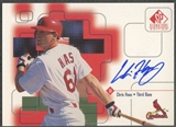 1999 SP Signature #CHA Chris Haas Auto