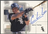 1999 SP Signature #CL Carlos Lee Auto