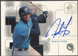 1999 SP Signature #DL Derrek Lee Auto