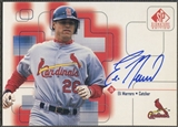 1999 SP Signature #ELI Eli Marrero Auto