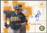1999 SP Signature #JAG Jason Giambi Auto