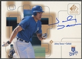 1999 SP Signature #JDA Johnny Damon Auto