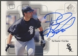 1999 SP Signature #PK Paul Konerko Auto