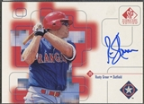 1999 SP Signature #RGR Rusty Greer Auto