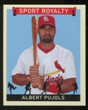 2007 Upper Deck Goudey Sport Royalty #AP Albert Pujols