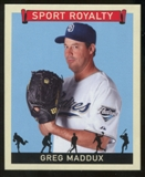 2007 Upper Deck Goudey Sport Royalty #GM Greg Maddux
