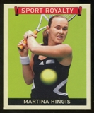 2007 Upper Deck Goudey Sport Royalty #HI Martina Hingis