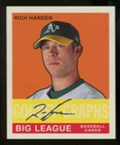 2007 Upper Deck Goudey Graphs #RH Rich Harden Autograph