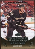 2010/11 Upper Deck #202 Nick Bonino YG RC Young Guns Rookie Card