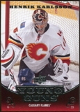 2010/11 Upper Deck #209 Henrik Karlsson YG